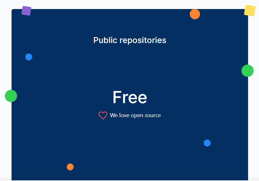 github actions free for public repos