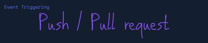 push/pr